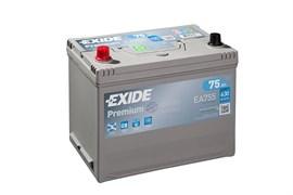 EXIDE Premium EA755 - 75Ah 630A