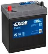 Аккумулятор EXIDE Excell EB357 - 35Ah 240A