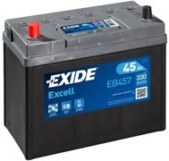 EXIDE Excell EB457 - 45Ah 330A