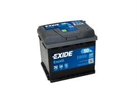 EXIDE Excell EB500 - 50Ah 450A