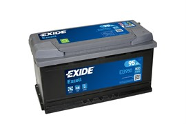 EXIDE Excell EB950 - 95Ah 800A