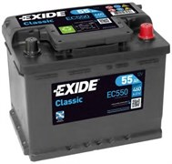 EXIDE Classic EC550 - 55Ah 460A