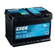 EXIDE Start-Stop EFB EL700 - 70Ah 630A