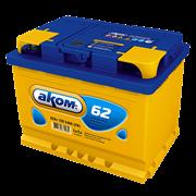 АКОМ 62Ач 540А (Обратная полярность)