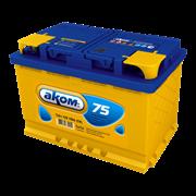 Аккумулятор АКОМ 75Ач 700А (Обратная полярность)