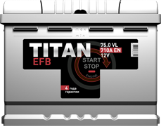 TITAN EFB 6СТ-75.0 VL