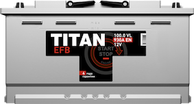TITAN EFB 6СТ-100.0 VL