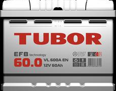 TUBOR EFB 60 Ач 600 А R+