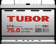 TUBOR EFB 75 Ач 710 А R+