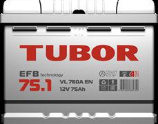 TUBOR EFB 75 Ач 710 А L+