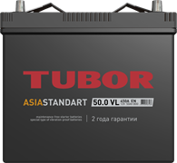 TUBOR ASIA STANDART 6СТ-50.0 VL B00