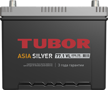 TUBOR ASIA SILVER 6СТ-77.1 VL B01