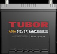 TUBOR ASIA SILVER 6СТ-70.0 VL B01