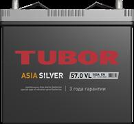 TUBOR ASIA SILVER 6СТ-57.0 VL B00