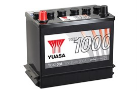 Yuasa YBX1038 35Ah 330A L+