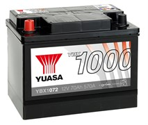 Yuasa YBX1072 70Ah 570A L+