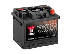 Yuasa 12V 45Ah 425A SMF Battery R+