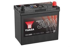 Yuasa 12V 45Ah 400A SMF Battery (+Adaptor T3 toT1) R+
