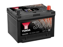 Yuasa 12V 50Ah 530A SMF Battery R+