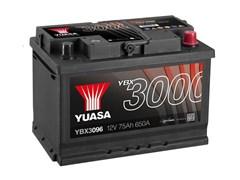 Yuasa 12V 75Ah 650A SMF Battery R+