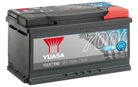 Yuasa 12V 75Ah 730A EFB Start Stop Battery R+