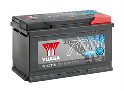 Yuasa 12V 80Ah 730A EFB Start Stop Battery R+
