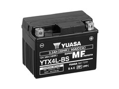 Yuasa 12V MF VRLA Battery R+