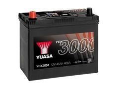 Yuasa 12V 45Ah 400A SMF Battery L+