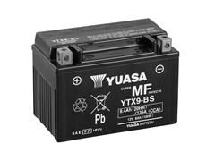 Yuasa YTX9-BS (CP) 12V MF VRLA Battery L+