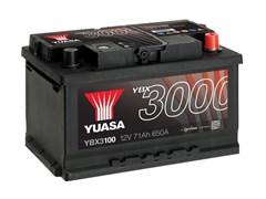Yuasa 12V 71Ah 650A SMF Battery R+