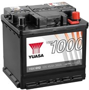 Yuasa YBX1012 45Ah 380A R+