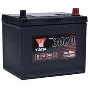 Yuasa 12V 60Ah 540A SMF Battery R+