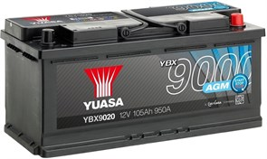 Yuasa YBX9020 105Ah 950A AGM Start Stop R+