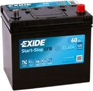 EXIDE Start-Stop EFB 60Ah 520A