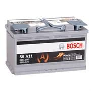 BOSCH S5 A11 AGM - 80Ah 800A