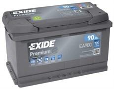 EXIDE Premium EA900 - 90Ah 720A