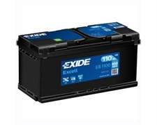 EXIDE Excell EB1100 - 110Ah 850A